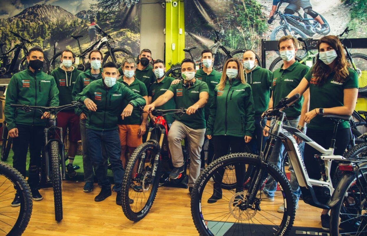 equipo de venta ebike.es bicicletas electricas tienda madrid