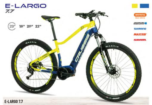 Crussis e-bike e-MTB Bicicletas Eléctricas